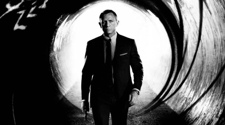 Hangzatos címet kapott a 25. James Bond-film kép