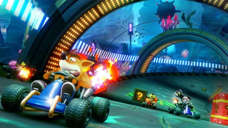 A Crash Team Racing Nitro-Fueled az év harmadik legjobban startoló játéka bevezetőkép