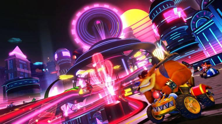 Crash Team Racing Nitro-Fueled - 20 percen át nézhetjük az Adventure módot bevezetőkép