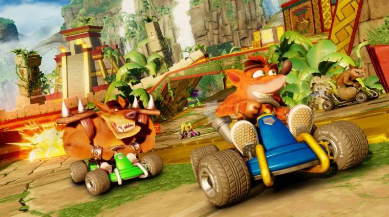 Crash Team Racing Nitro-Fueled - az utolsó előzetes most a rajtvonalhoz állt bevezetőkép