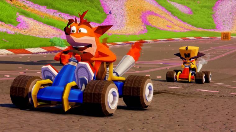 Crash Team Racing Nitro-Fueled - PS4 exkluzív extrák és egyéb extra tartalmak is érkeznek bevezetőkép