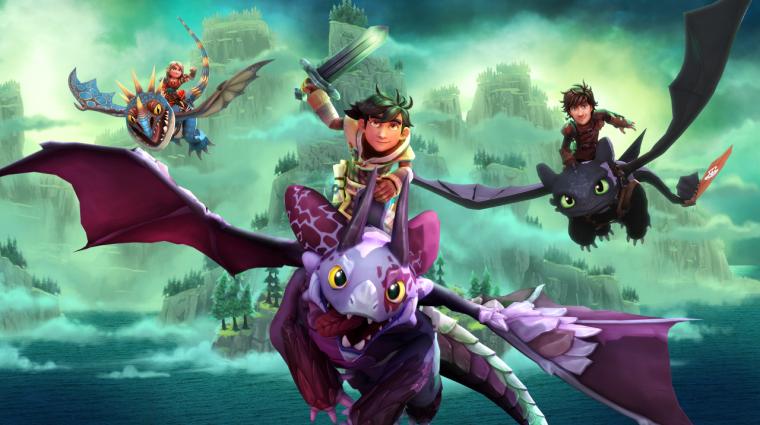 Így neveld a sárkányod világában játszódó akció-RPG érkezik jövő februárban bevezetőkép