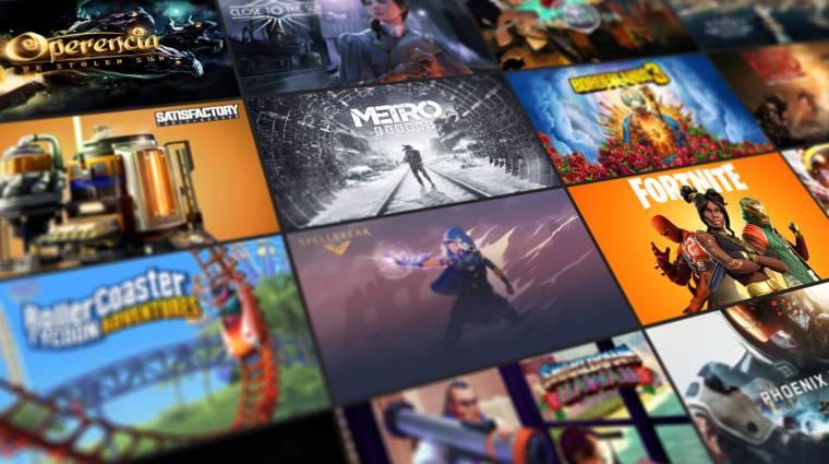 Az Epic fejese szerint a játékok eladásait is segíti, hogy ingyenessé teszik őket bevezetőkép