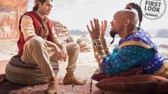 Nyugalom, Dzsini kék lesz az élőszereplős Aladdinban kép