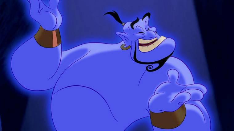 Így fog kinézni Dzsini az élőszereplős Aladdinban kép