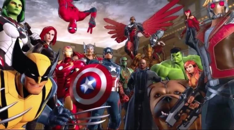 Marvel Ultimate Alliance 3: The Black Order - 7 percnyi zúzás a szuperhősök jóvoltából bevezetőkép