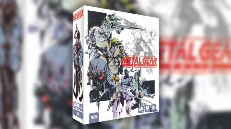 Egy társasjáték a következő Metal Gear Solid bevezetőkép
