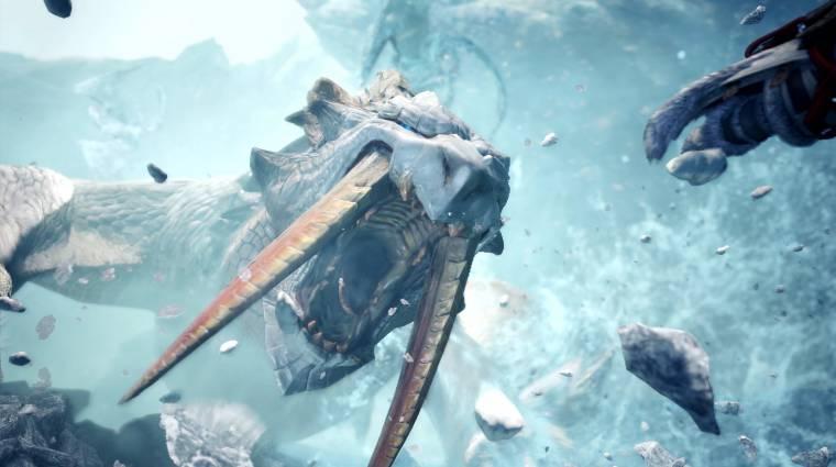 Brutális ragadozó lett a Monster Hunter: World - Iceborne Bariothja bevezetőkép