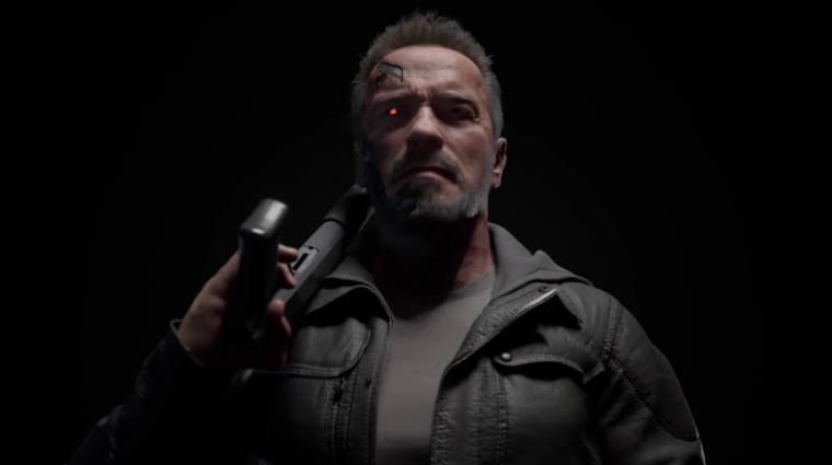 Mortal Kombat 11 - nem Arnold Schwarzenegger szólaltatja meg a Terminátort bevezetőkép