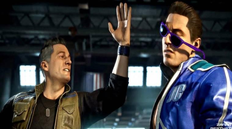 Olyan tiszteletlenek a Mortal Kombat profik egymással, hogy a fal adja a másikat bevezetőkép