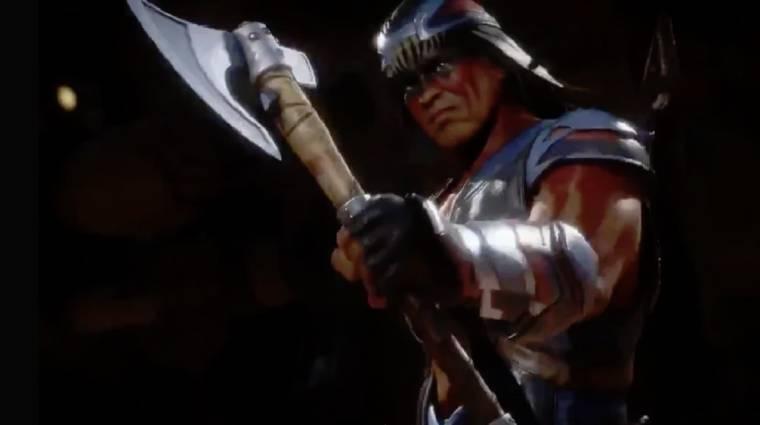 Mortal Kombat 11 - végre láthatjuk, hogyan harcol Nightwolf bevezetőkép
