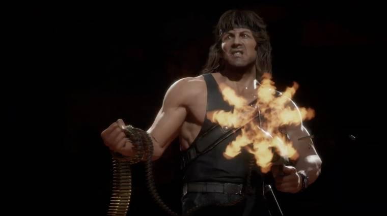 Ennyire brutális Rambo a Mortal Kombat 11-ben bevezetőkép