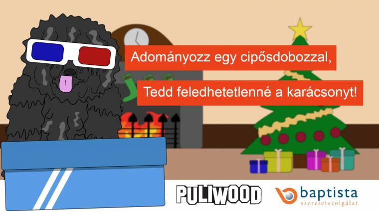 Jótékonykodj együtt a Puliwood csapatával! kép