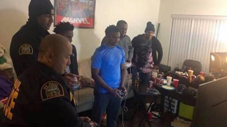 Csendháborításhoz riasztották a rendőröket, akik inkább beszálltak játszani bevezetőkép