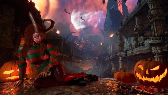 A Succubus ingyenes halloween témájú tartalmait most, a konzolos kiadást csak később kapjuk meg kép