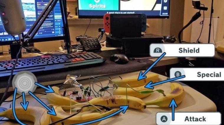 Super Smash Bros. Ultimate - nyugalom, banánnal is lehet játszani bevezetőkép