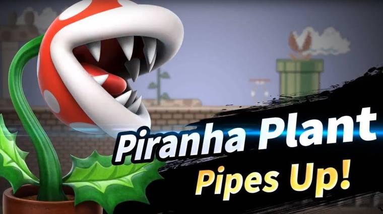Super Smash Bros. Ultimate - Piranha Plant is csatlakozott az új frissítéssel bevezetőkép