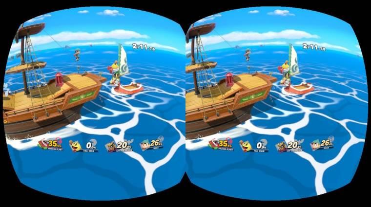 Super Smash Bros. Ultimate - VR-támogatást hozott a legújabb frissítés bevezetőkép