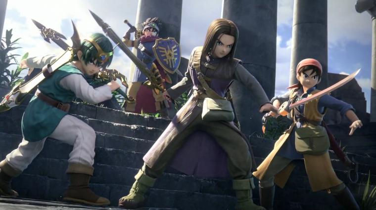 E3 2019 - a Dragon Quest hősei is csatlakoznak a Super Smash Bros. felhozatalához bevezetőkép