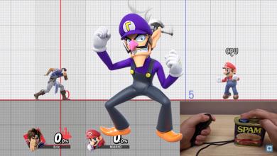 Egy gombbal is játszható a Super Smash Bros. Ultimate