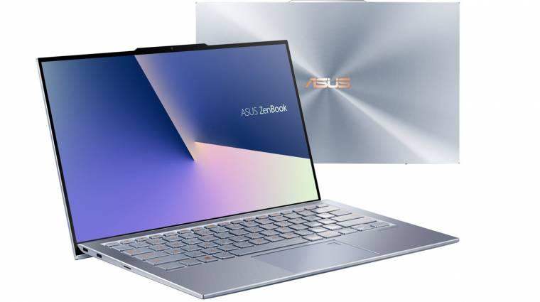 Az ASUS laptopokra is elhozta a notchot, de nyugi, jó lesz az nekünk kép