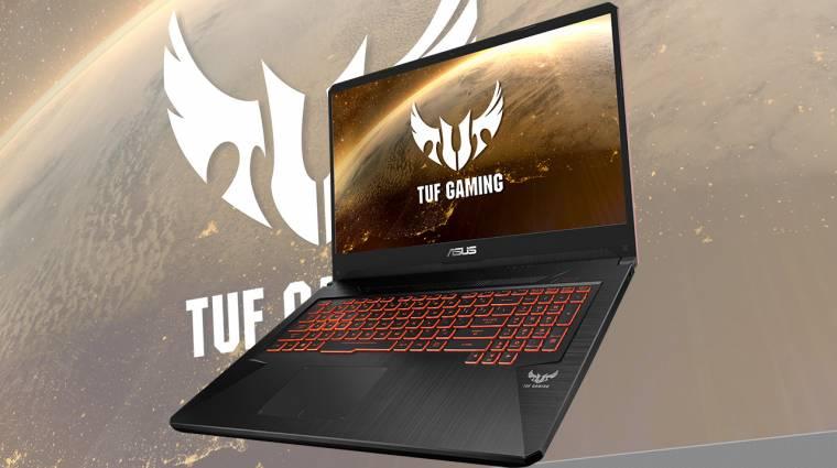 Az új TUF laptopokkal katonai minőséget kapnak a játékosok kép