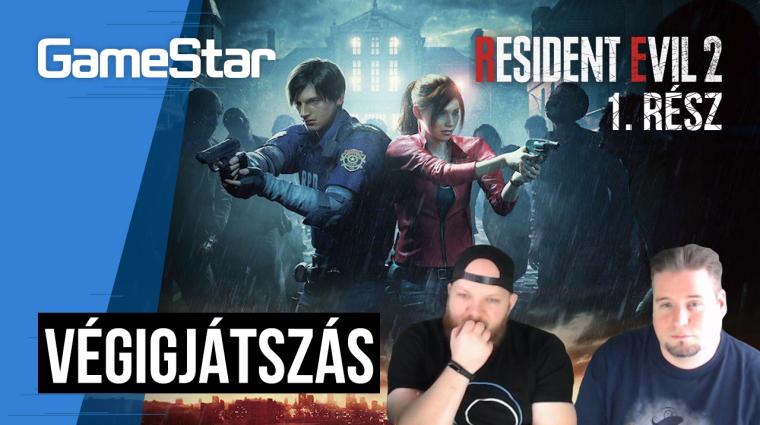 Resident Evil 2 végigjátszás 1. rész - kitört az apokalipszis bevezetőkép