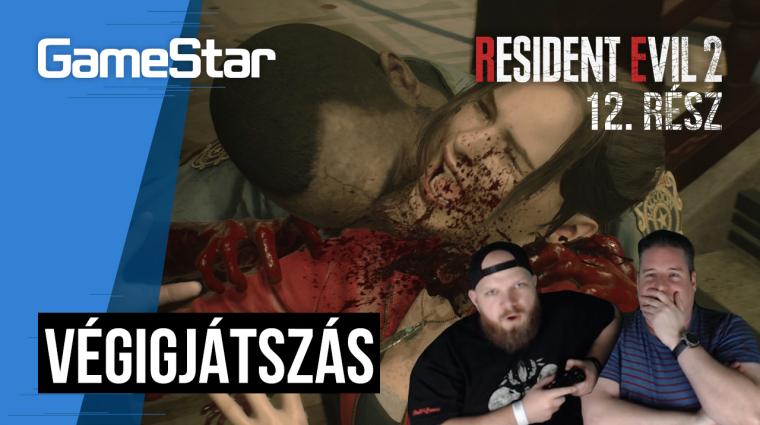 Resident Evil 2 végigjátszás 12. rész - mikor lett ez a játék ilyen nehéz?! bevezetőkép