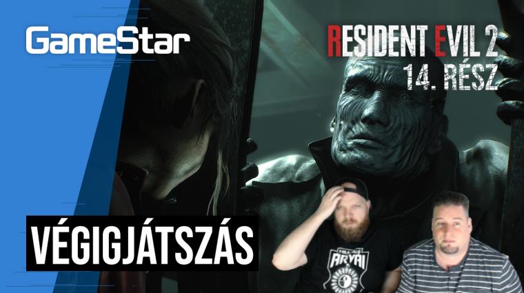 Resident Evil 2 végigjátszás 14. rész - hagyj már minket békén! bevezetőkép