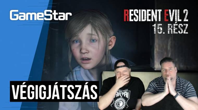 Resident Evil 2 végigjátszás 15. rész - Sherry Sherry Lady bevezetőkép