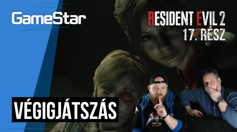 Resident Evil 2 végigjátszás 17. rész - nekünk kell megmenteni az egész világot bevezetőkép