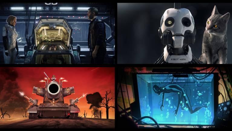Előzetesen a Love, Death + Robots második évada kép