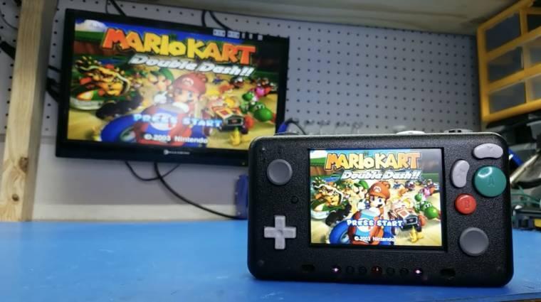 Ez az egyedi, hordozható konzol Nintendo GameCube és Wii játékokat futtat bevezetőkép