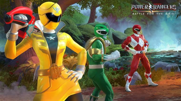 Power Rangers: Battle for the Grid - egy hosszabb trailer mutatja be a játékmenetet bevezetőkép