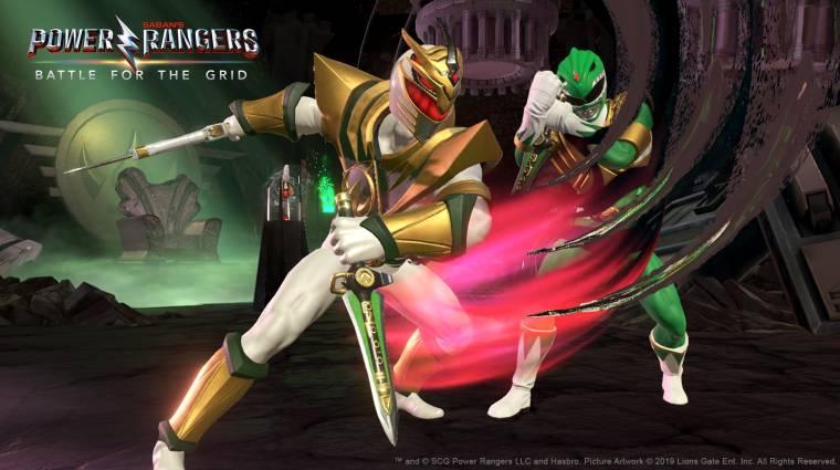 Power Rangers: Battle for the Grid - pár nap múlva már csatázhatunk is bevezetőkép