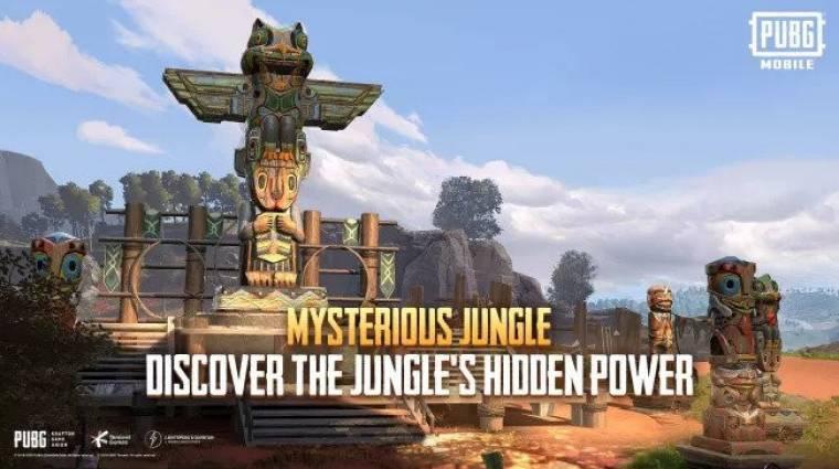Új mód érkezett a PUBG Mobile-ba, ezúttal a dzsungelben kalandozhatunk bevezetőkép