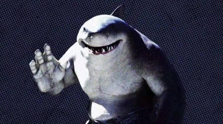 A The Suicide Squad King Sharkja pörölycápa helyett egy nagy fehér lett, már azt is tudjuk, hogy miért bevezetőkép