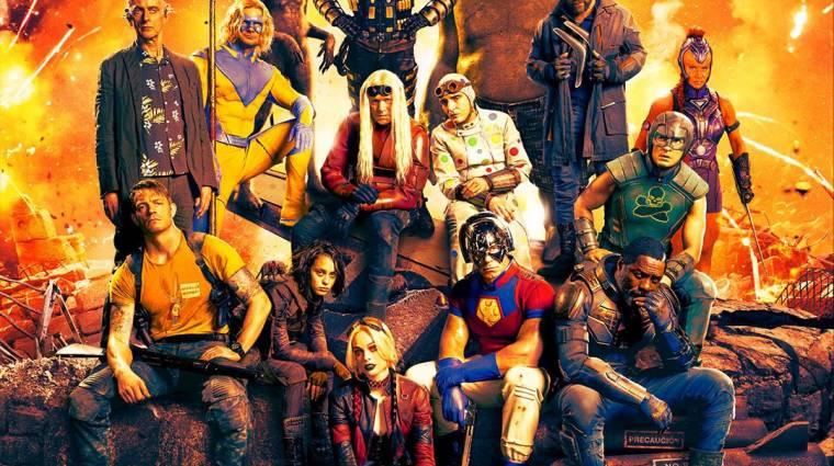 Közös képen pózolnak a The Suicide Squad nem éppen hétköznapi karakterei bevezetőkép