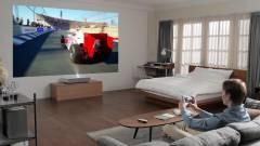 Ultrarövid vetítési távolságú 4K-s lézerprojektor kép