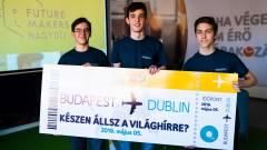 Dublinban is aratott a Fazekasos diákok appja kép