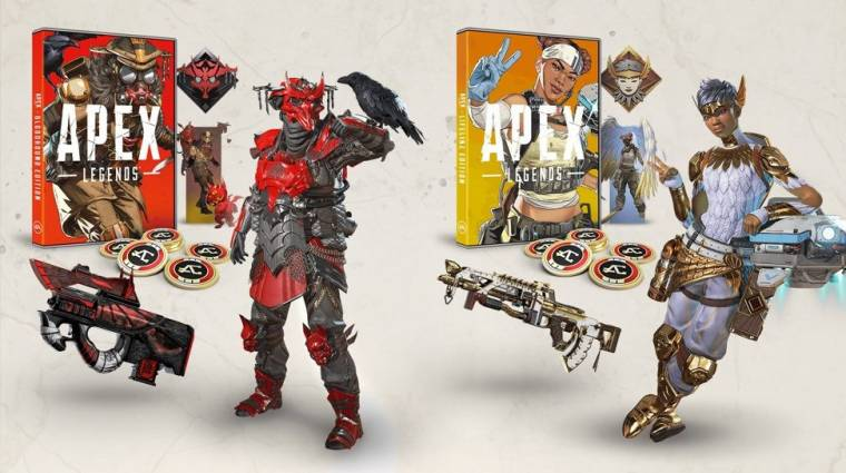 Apex Legends - exkluzív skinekkel érkezik a dobozos kiadás bevezetőkép