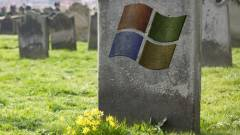 Ausztráliában eltemették a Windows XP-t kép