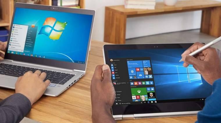 Még mindig nem frissítettél Windows 7-ről 10-re? Tedd meg most olcsón! bevezetőkép