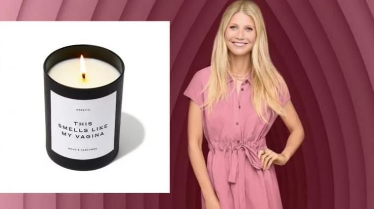 Napi büntetés: Gwyneth Paltrow vagina illatú gyertyát kezdett árulni bevezetőkép