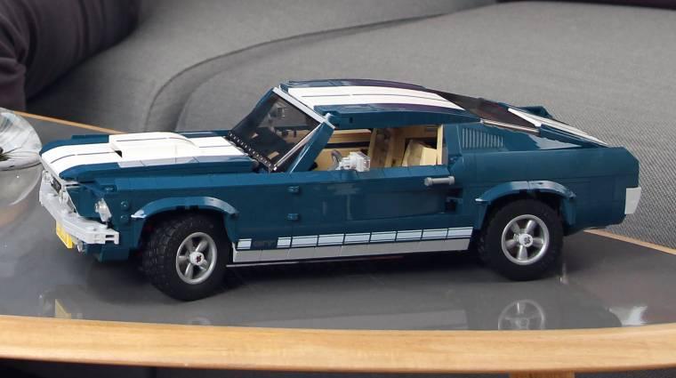 Nemsokára már klasszikus Ford Mustangot is építhetünk LEGO-ból bevezetőkép