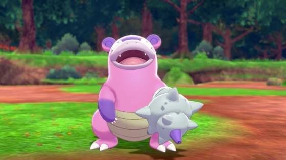 Pokémon Sword és Shield: The Isle of Armor infódoboz