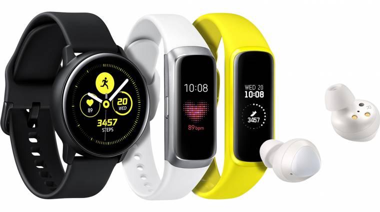 Új okosóra, fitneszpánt és füles a Samsung bemutatón kép