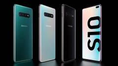 Négy új Samsung Galaxy S10 érkezett kép