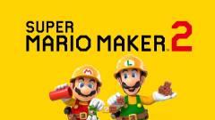 Super Mario Maker 2 - rögtön az amerikai toplista élén nyitott a Nintendo játéka kép