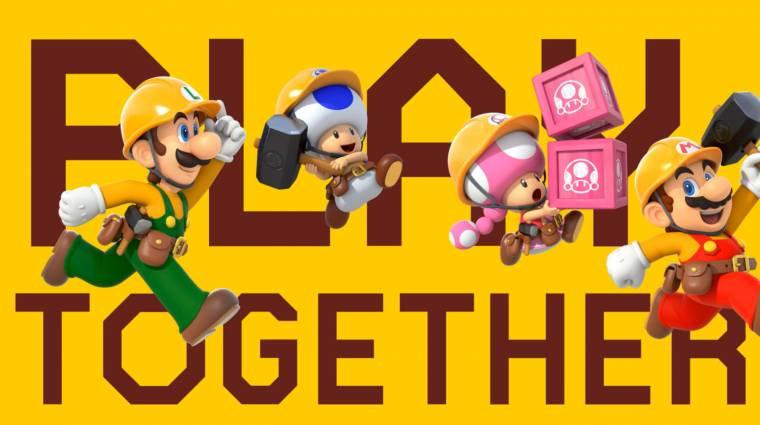 Super Mario Maker 2 - mégsem csak idegenekkel játszhatunk bevezetőkép